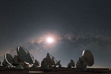 The ALMA observatory in the Atacama Desert is part of a global network of observatories